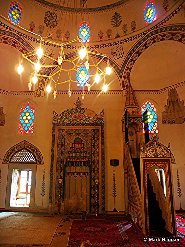 Inside the Koski Mehmed Pasa mosque, Mostar