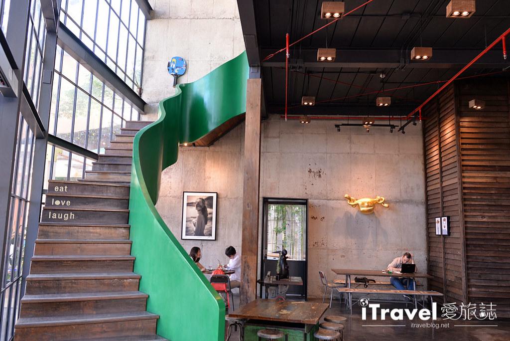 《清迈美食餐厅》Local Cafe @Think Park:融合日泰风格的尼曼商圈创意料理餐厅