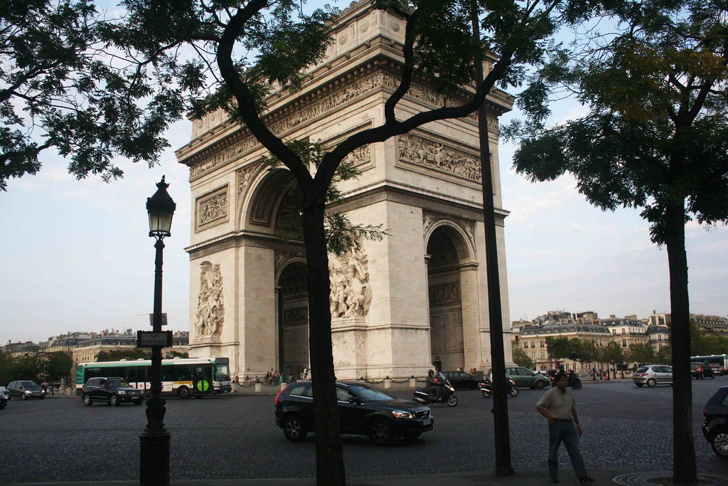 City Monument - India Gate, Place Charles de Gaulle