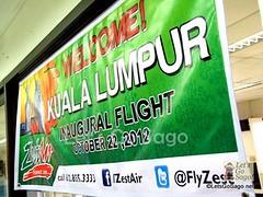 Zest Air Kuala Lumpur Inaugural Flight