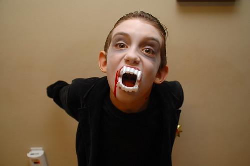 vampire hallowe'en