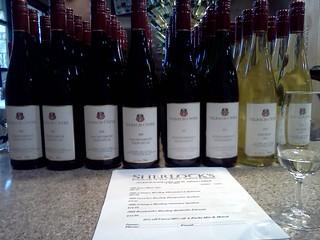 Selbach Oster Wine Tasting Sherlocks