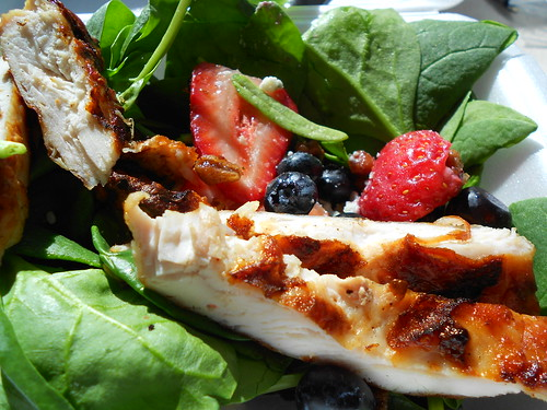 Berry/Spinach Salad