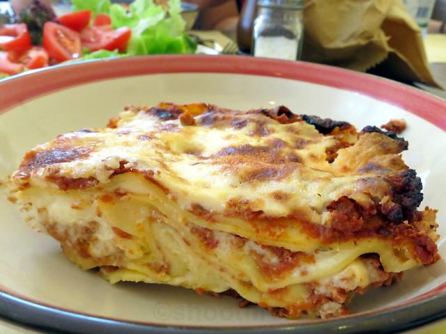 lasagna al ragu €6