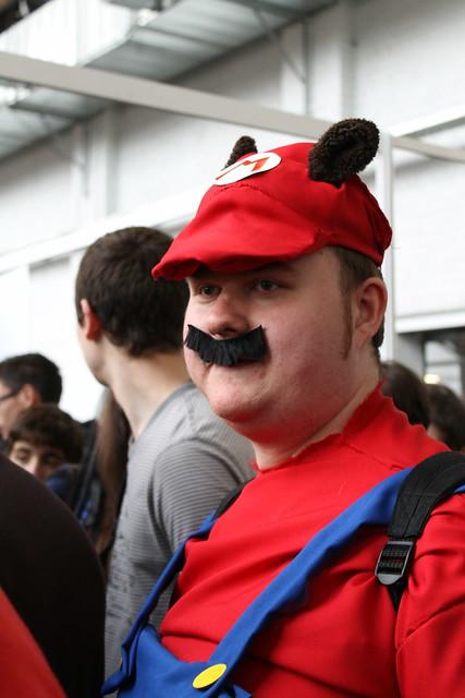 Mario, Tanuki version
