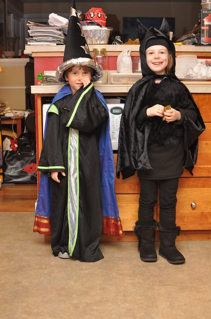Wizard and Bat About to Hit the Neighborhood