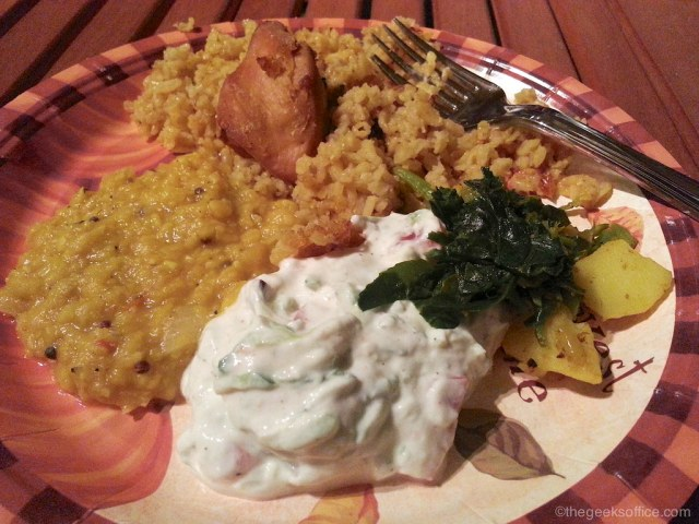 Homemade Indian Food by Lin