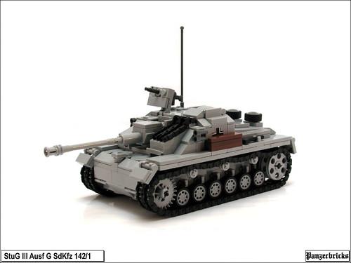 Sturmgeschütz III Ausf G de Panzerbricks