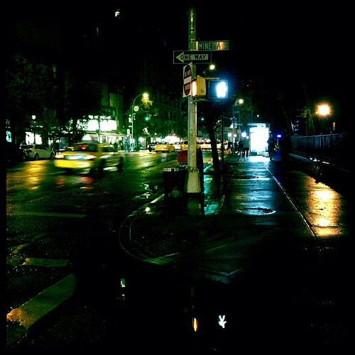Sixth Avenue and Manetta Lane by 24gotham