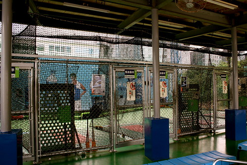 Batting cage at Taroko Sports