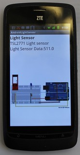 Amarino Light sensor (2)