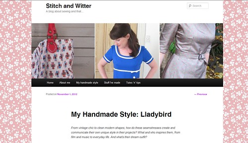 Guest post on Stitch and Witter!