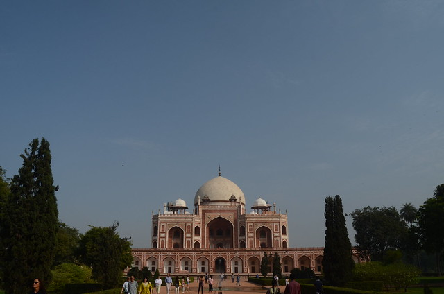 humayun's tomb, mughal architecture, delhi, india, tourist attraction, new delhi