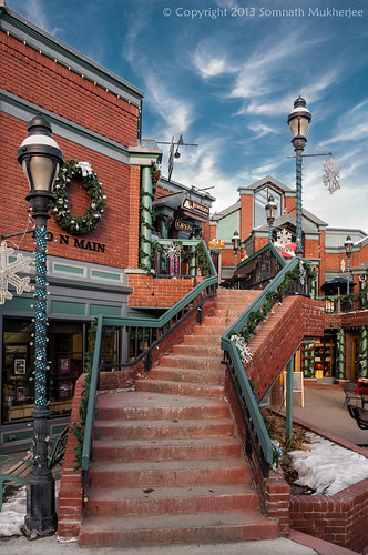 The Staircase at Main Street | Breckenridge, CO | January 2013 by Somnath Mukherjee Photoghaphy