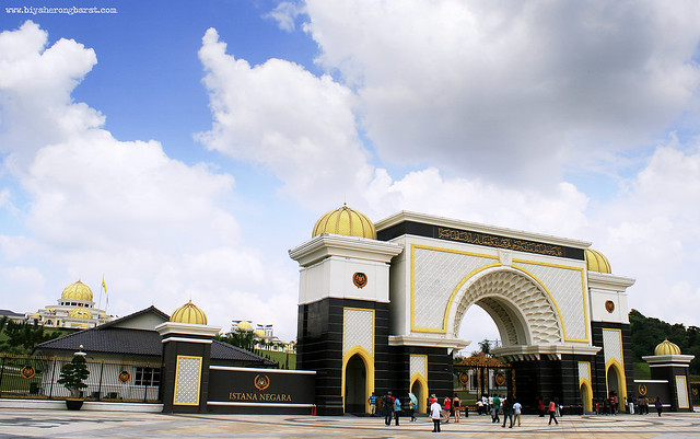 Istana Negara National Palace Kuala Lumpur Malaysia