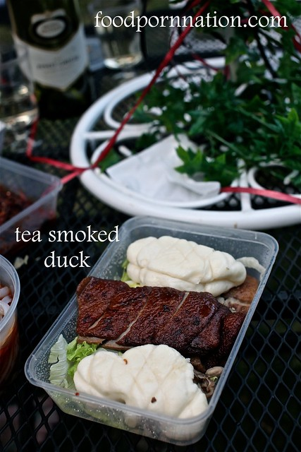 tea smoked duck