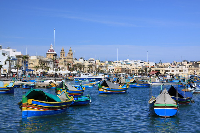 marsascala harbour malta