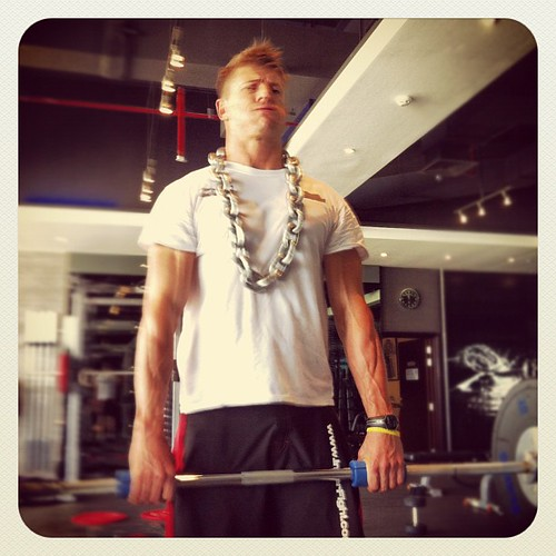 #chain #necklace & #fatgripz  #gangnam style #training #fun #strength #power #evolve #innerfight