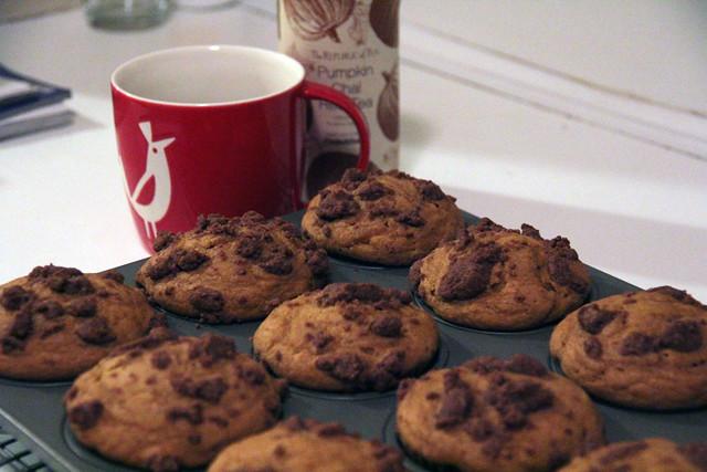 Pumpkin Streusel Muffins 2