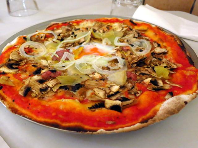 pizza alla capricciosa €9