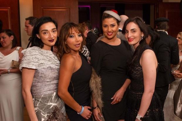 Olya Dzilikhova, Karen Tamblyn, Claudia Suarez, Mina Yazdi