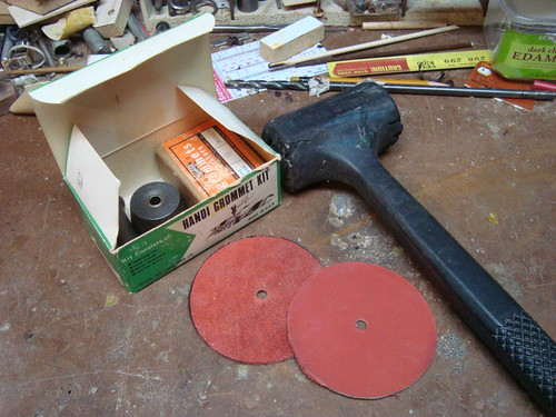 Hole-cutting supplies