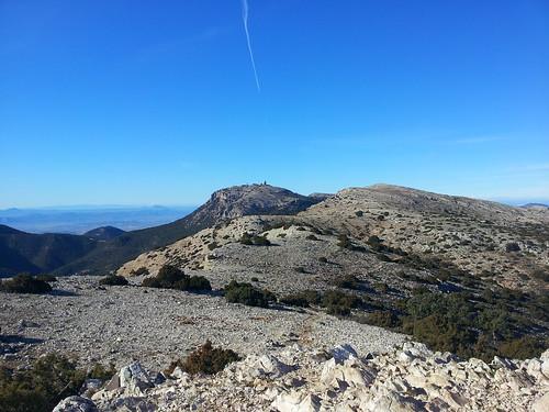 Morrón de Espuña desde el Morrón de Alhama by Domingo Pérez Guarinos