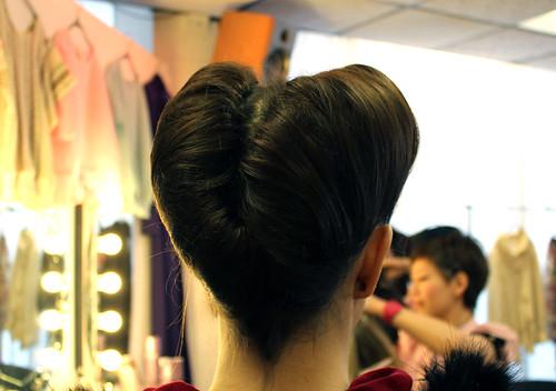 Back of hair detail