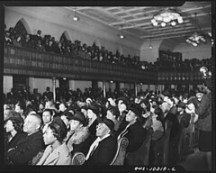 Crowd at Rally for Integrating Capital Transit 1942 (Photo 10)
