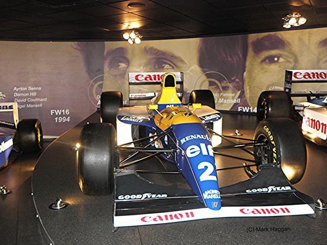 Alain Prost's 1993 FW15C
