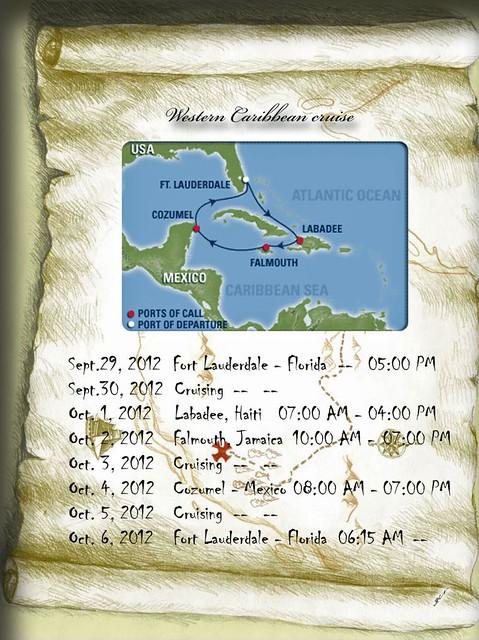 itinerary'