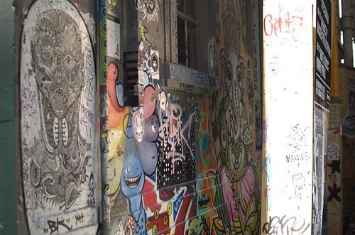 Laneway graffiti