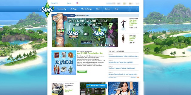 sims 3 website update2