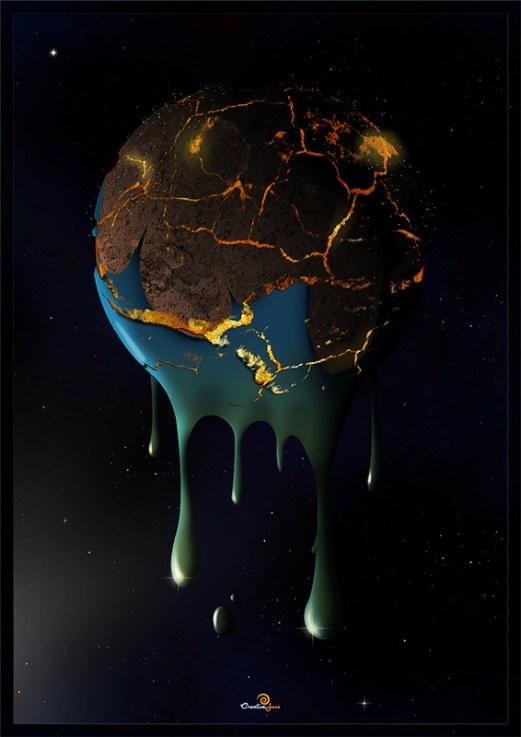 Melting Planet Design