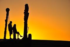 Lanzarote silhouette