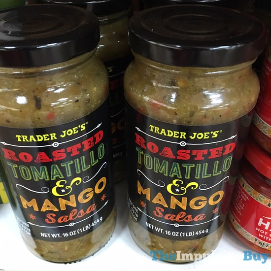 Trader Joe's Roasted Tomatillo & Mango Salsa