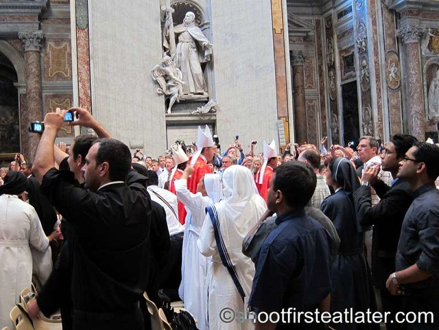 Papal mass at the Vatican