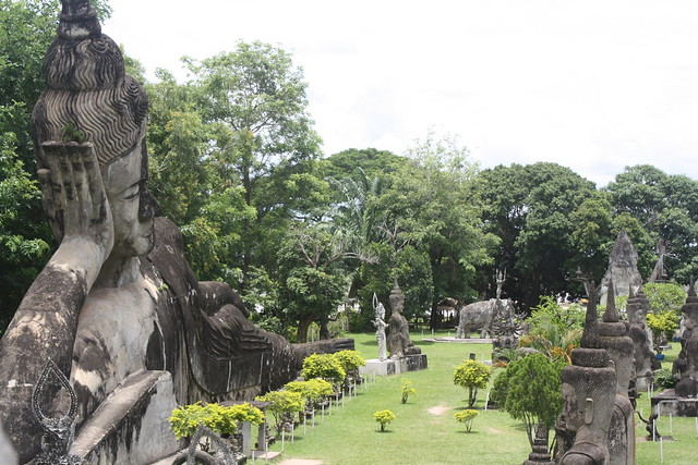 Buddha Park, Laos, Outside of Vientiane