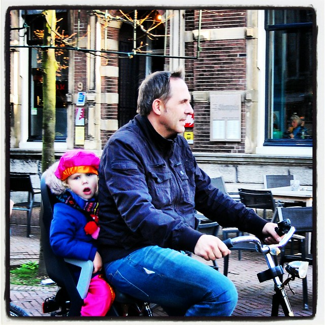 piet on a bike