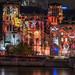 Fête des Lumières 2012 - Quai de Saône avec St-Jean et Fourvière