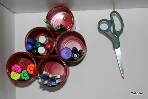 Pens - organised