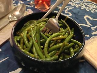 Karl's Garlic Thyme Green Beans