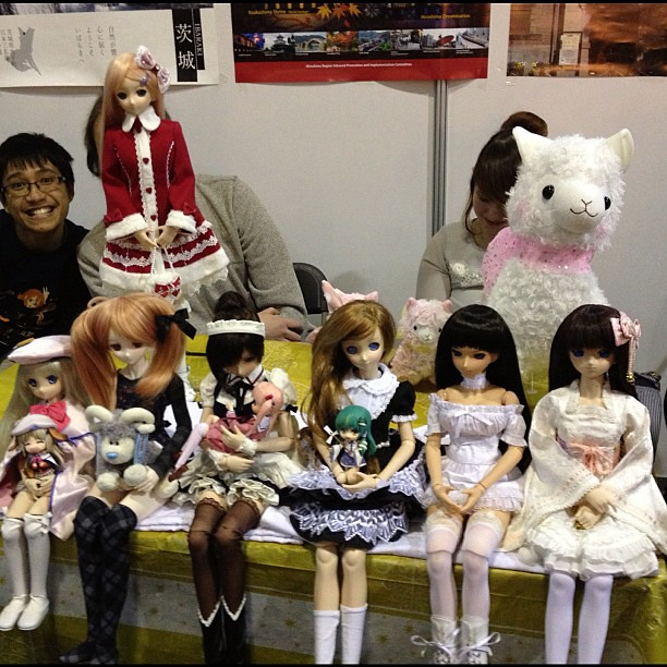Dollfie Dreams out at Hyper Japan!
