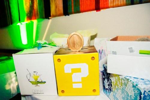 Super Mario Question Block Card box