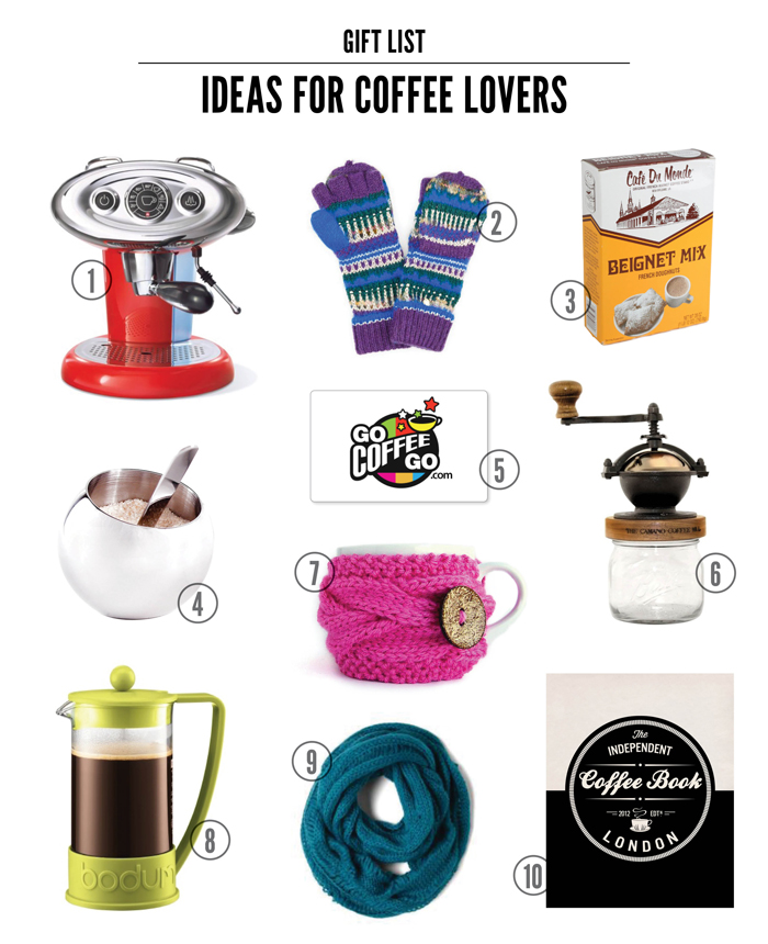 My Favorite Gift Ideas for the Coffee Lover