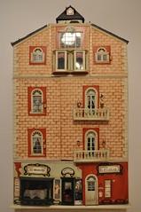 Edificio en miniatura (escala 1:12)