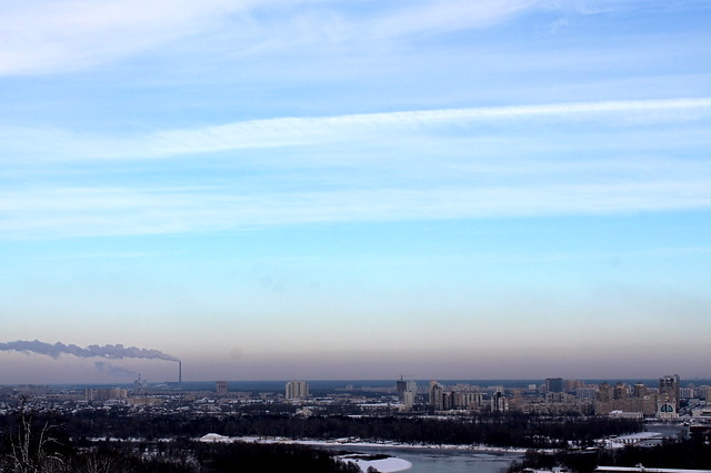 Overlooking Kiev