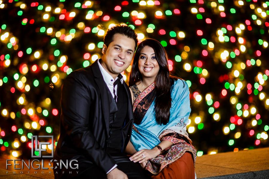 Kanwal & Ali Engagement | Downtown Atlanta | Atlanta Indian Ismaili Wedding Photography