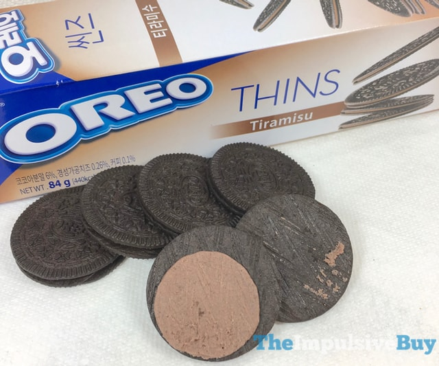 Nabisco Oreo Thins Tiramisu Cookies 2