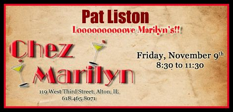 Pat Liston 11-9-12